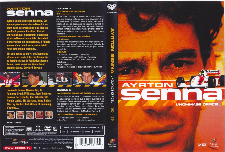 Ayrton Senna Tribute To French Frontjpg