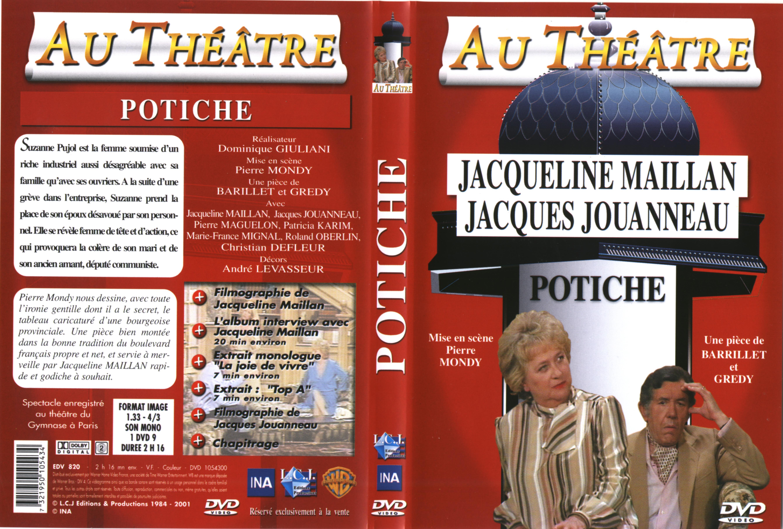 Jaquette DVD Au théatre - potiche